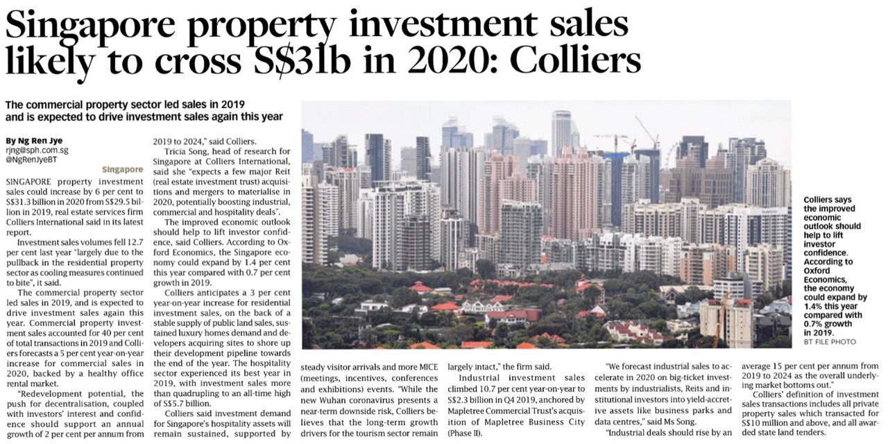Property investment news singapore today hotforex metatrader 4